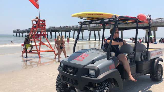 Beaches first responders protect huge crowds in record heat