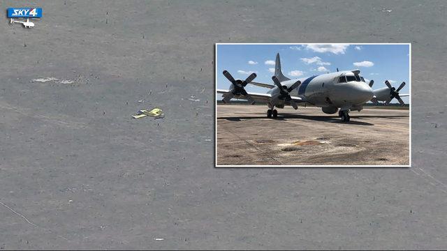 Customs crew helps locate surviving pilot of midair collision