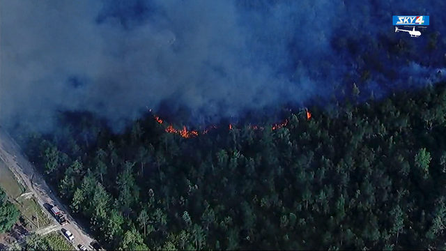 28-acre woods fire near Keystone Heights 100% contained