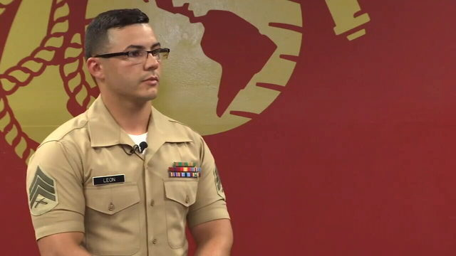 Marine jumps into action to rescue a teen from taking his own life
