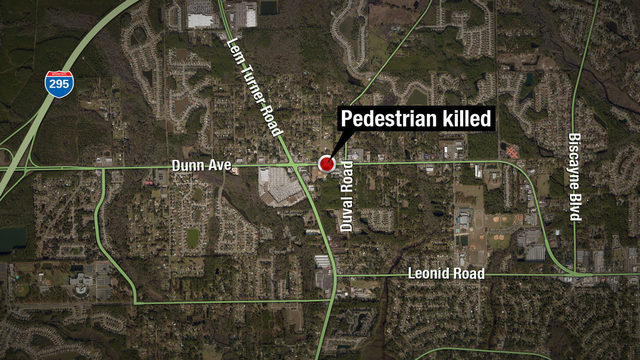 FHP: Pedestrian hit by 2 cars on Dunn Avenue
