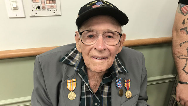 WWII veteran gets medals he never knew he earned