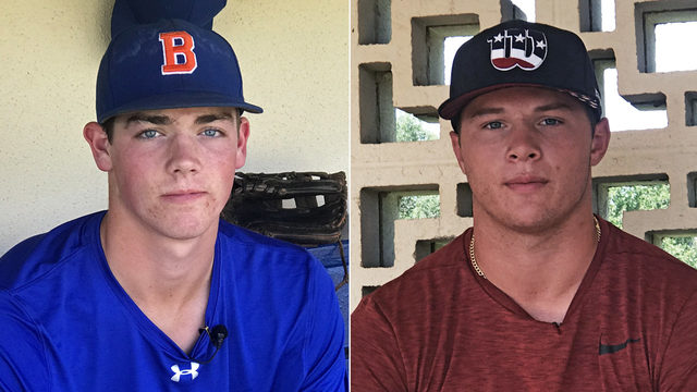 Friends Hunter Barco, Tyler Callihan could be area's next first-round…