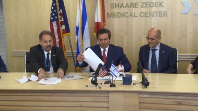 Gov. DeSantis' trip to Israel met with criticism