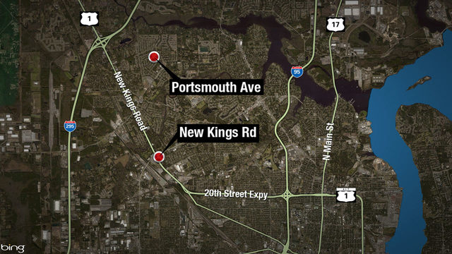 Police: 2 shootings within 3 minutes in Northwest Jacksonville