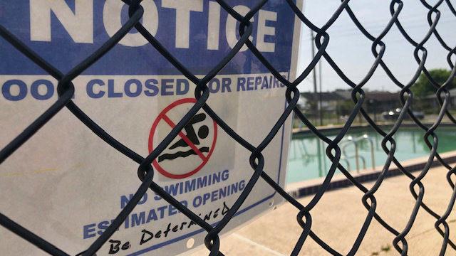 7 citypools not yet open for summer