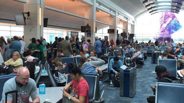 Major airline delays, some cancellations reported at JAX