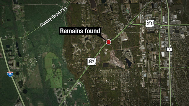 Human remains found in St. Johns County woods