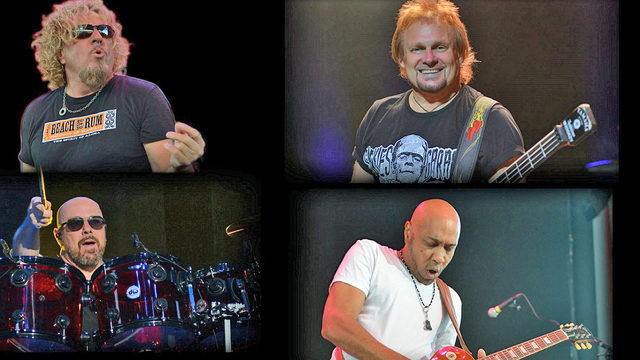 Sammy Hagar & The Circle to play at The Amp