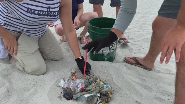 Surfrider Foundation cleans Jacksonville Beach on World Oceans Day
