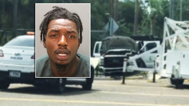Ex-college basketball player jailed after crashing into Mayport gate