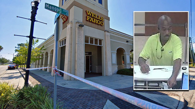 Police looking for suspect in San Marco bank robbery