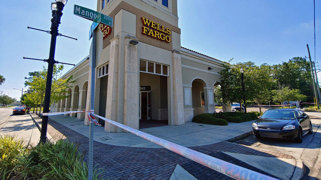 Police investigate San Marco bank robbery
