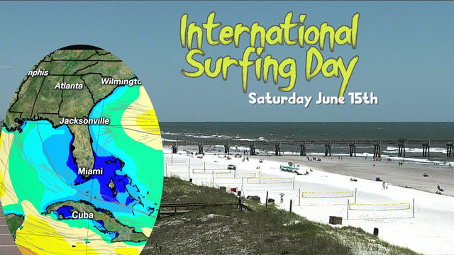 Forecast ideal for beginners on International Surfing Day
