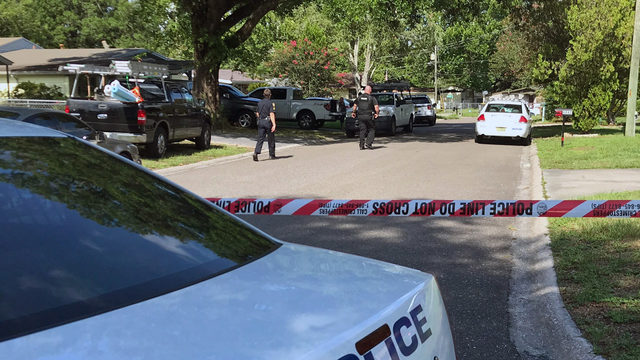 Jacksonville police investigate shooting on Tango Lane South