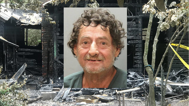 Man charged with arson after suspicious Arlington fire