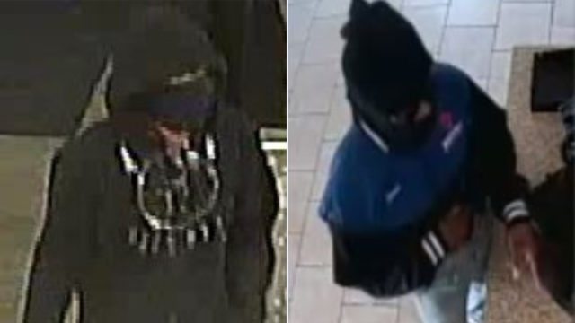 Surveillance photos released of man sought in armed robbery spree