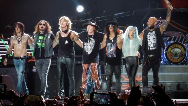 Guns N' Roses coming to Jacksonville in October