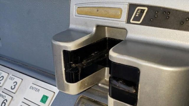 How can people avoid falling victim to skimmers?