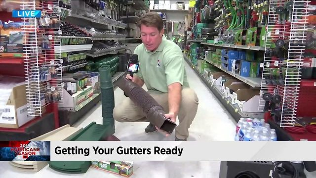 Hurricane prep to keep water away from your home