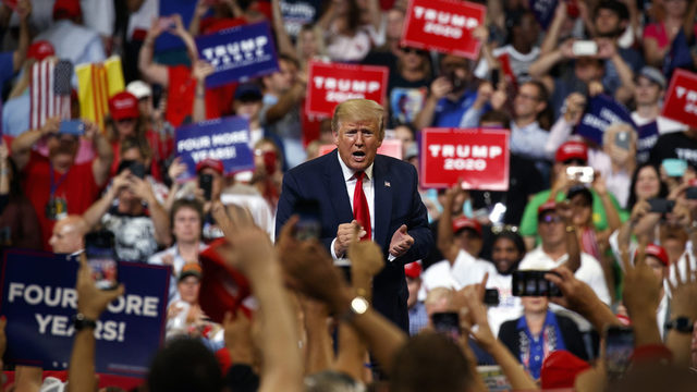 President Trump kicks off 2020 campaign at Orlando rally