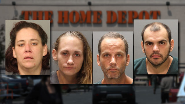 Theft ring stole least $83K in merchandise from home improvement stores