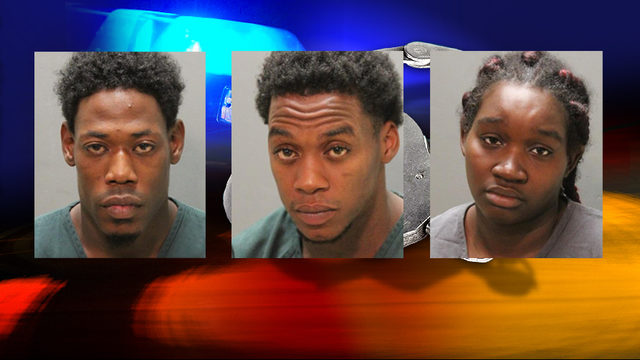 Trio arrested after string of Jacksonville gas station beer thefts