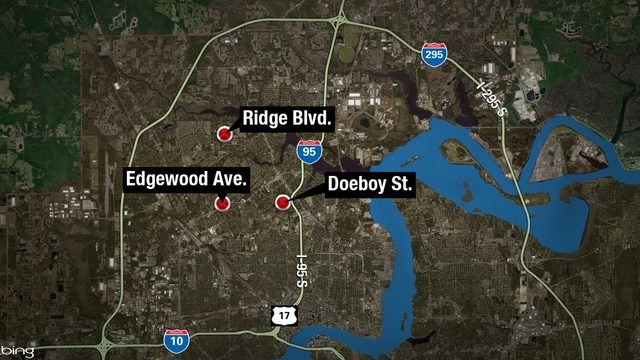 1 dead, 3 injured after night of violence in Jacksonville