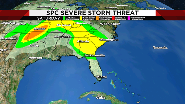 Heat streak returns with a few PM severe storms