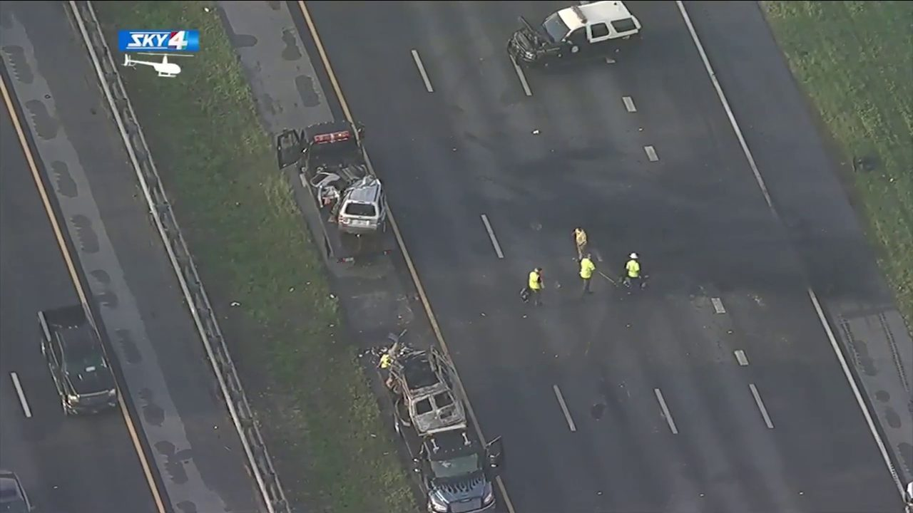 2 die in fiery wrong-way crash that closed I-95 for hours