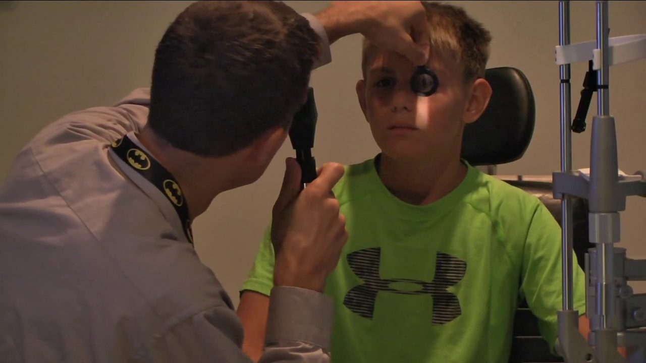 Getting your child's eyes checked now can lead to better school year later