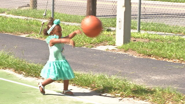 Community gathers for Baskets Not Bullets event