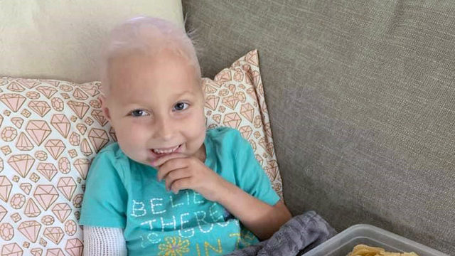 Fundraiser held to help pay for 6-year-old girl's cancer treatment