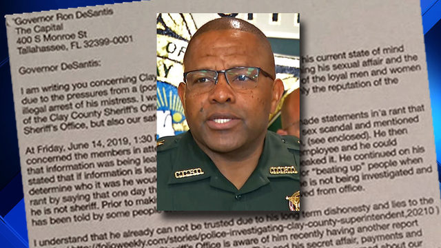 Letter asks governor to remove Sheriff Daniels; FDLE ups its investigation