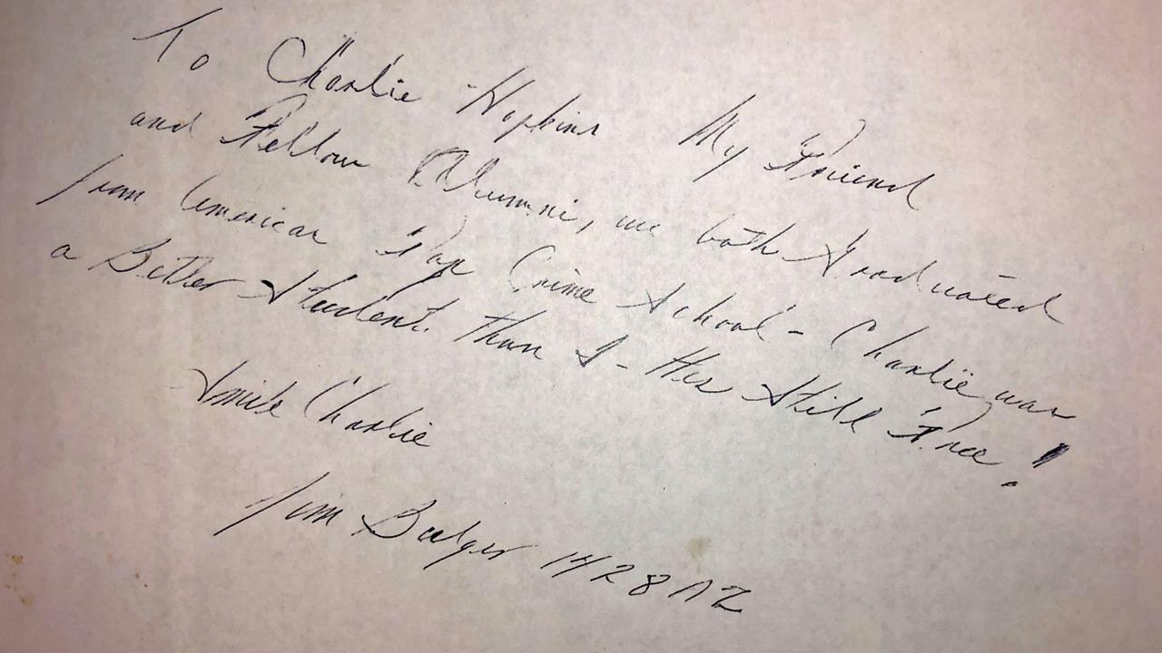 Bulger letter