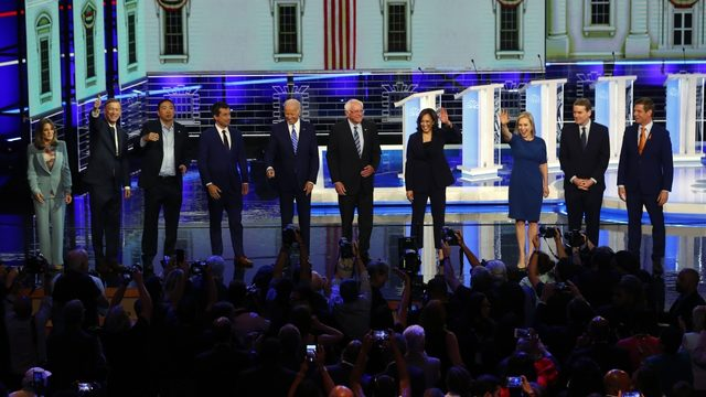 Fiery Democratic debate: Race, age, health care and Trump