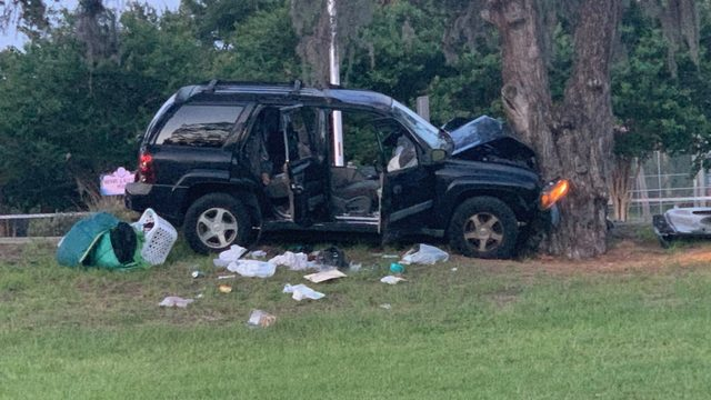 Driver dies after SUV crashes into tree in Springfield