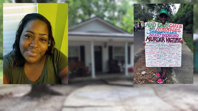 Group goes door to door trying to find out who killed mother of three