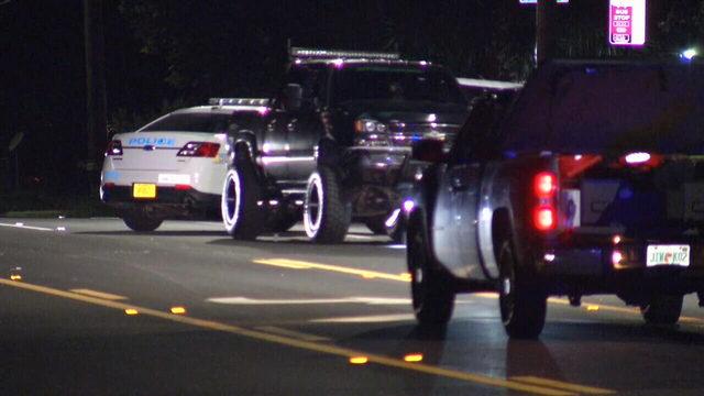 Traffic homicide investigating, pedestrian hit and killed on Northside