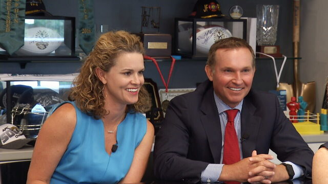 Mayor and first lady launch into next 4 years with renewed passion