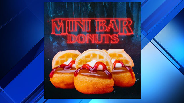 The Mini Bar making Stranger Things-inspired donut