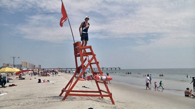 Fourth of July; One of the busiest beach days of the year