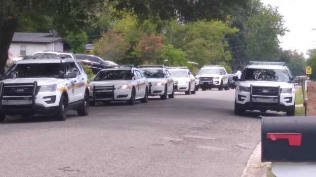 Large police presence on Cinderella Road in Jacksonville