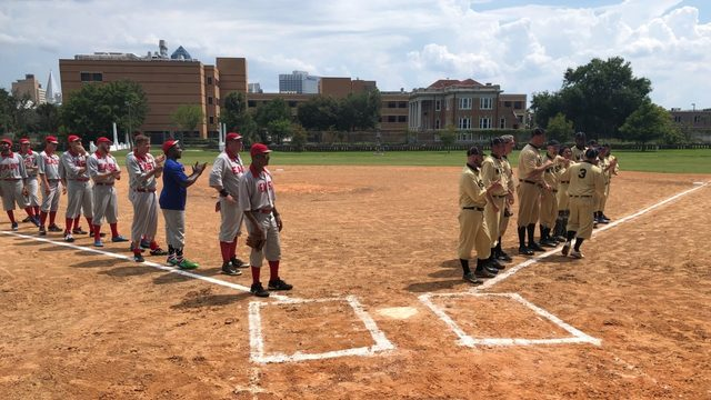 Springfield continues Fouth of July tradition with throwback baseball game