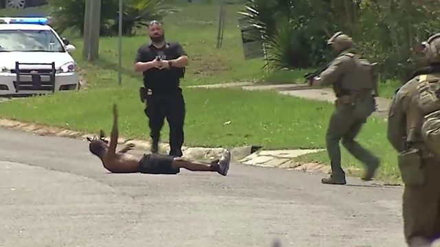 Video appears to show man's head slammed during JSO arrest