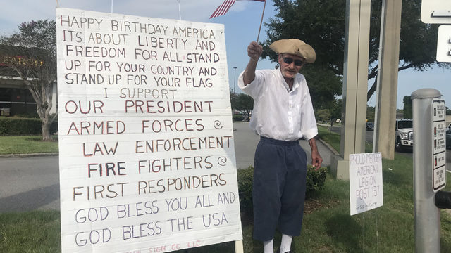 Local veteran returns for annual 4th of July tradition