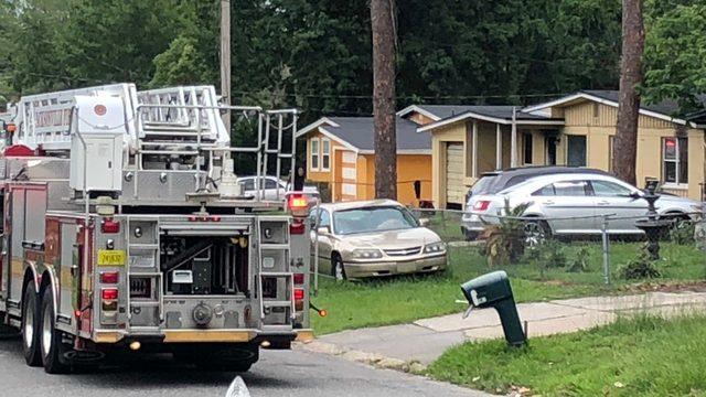 Fire reported at Westside home of JSO takedown arrest