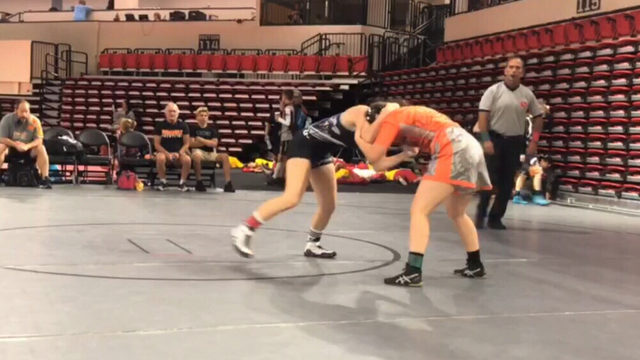 Camden County girl wrestling champ wants her due