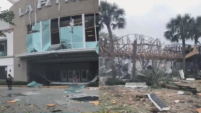 Gas explosion at shopping center in Plantation, several hurt