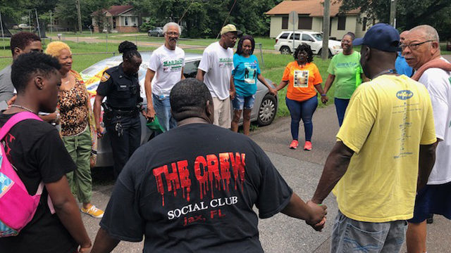 Anti-crime group, family of murder victim, pray, ask for tips to solve case